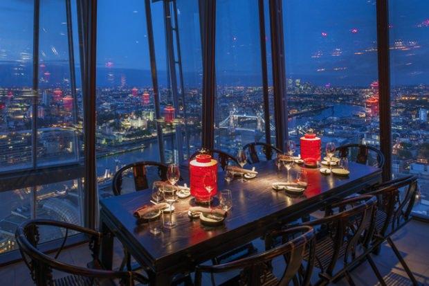 Top 10 bares com vistas panorâmicas em Londres