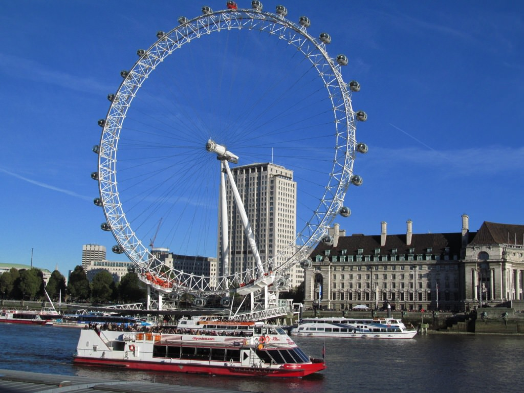 Parabéns London Eye pelos 15 anos!!!