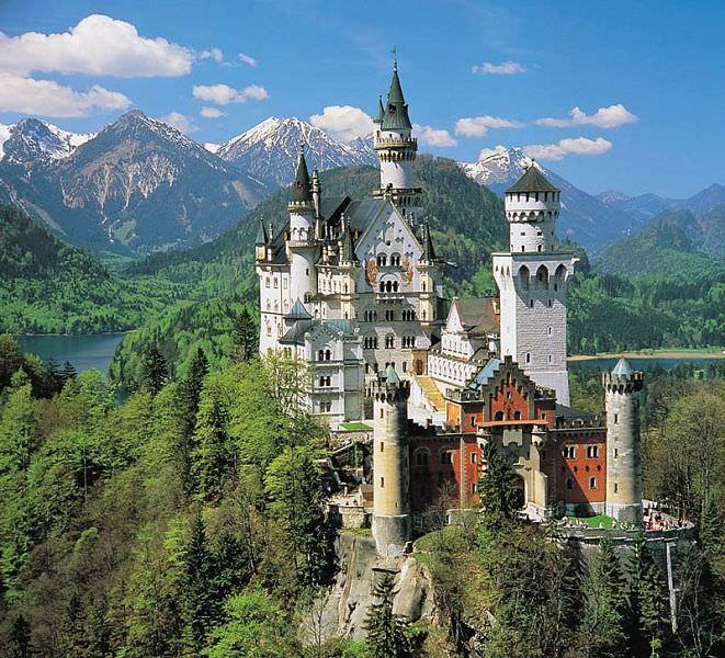 Castelo Neuschwanstein  – Um conto de fadas da Alemanha