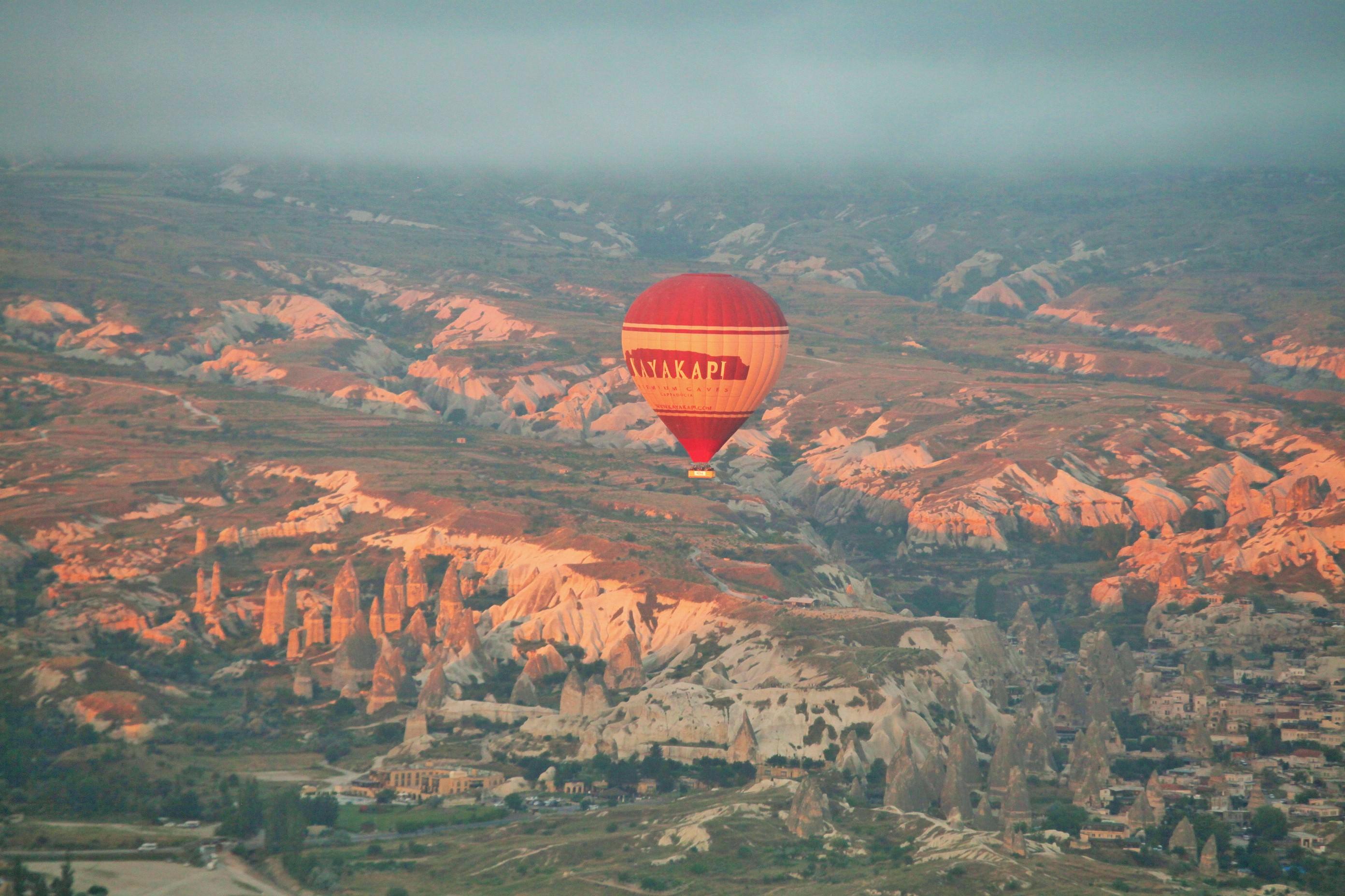 Passeio de balão na Capadócia e meu pedido de casamento surpresa