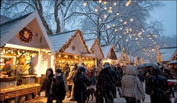 Mercados de Natal em Londres!