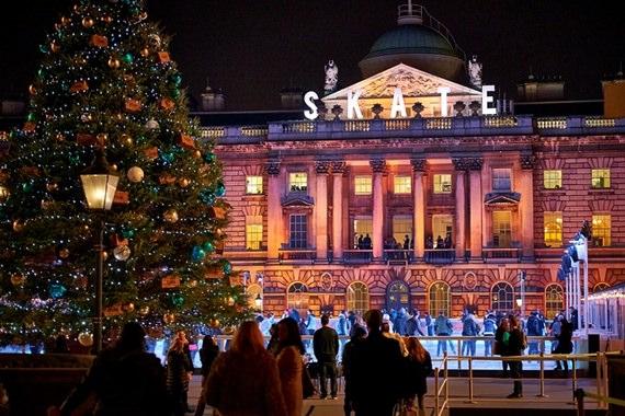 Atrações natalinas de Londres