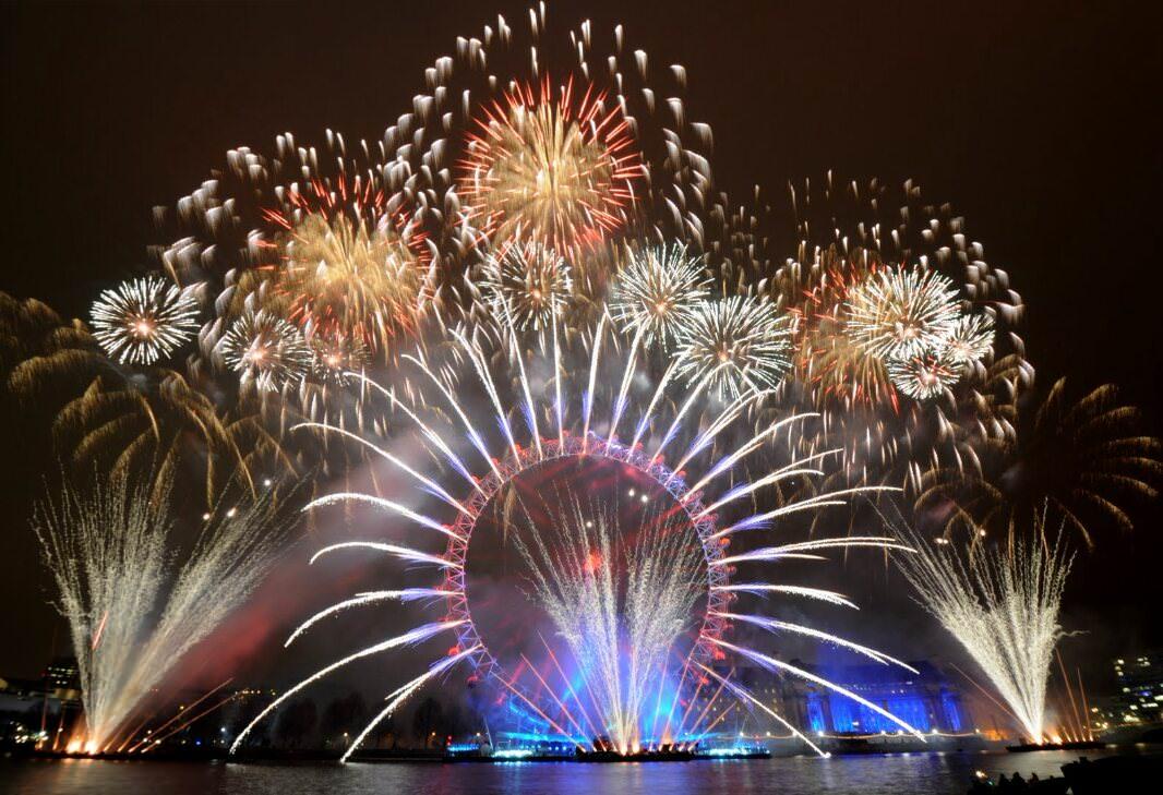 Ano novo em Londres