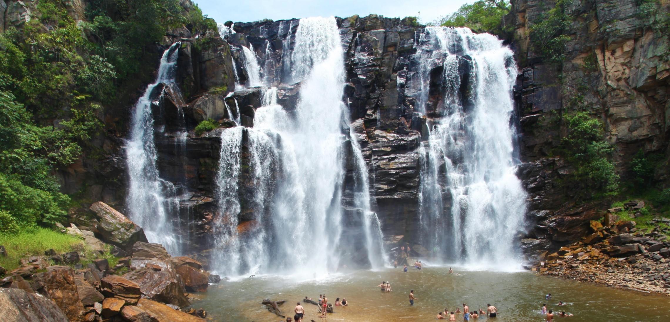O charme de Pirenópolis e suas cachoeiras