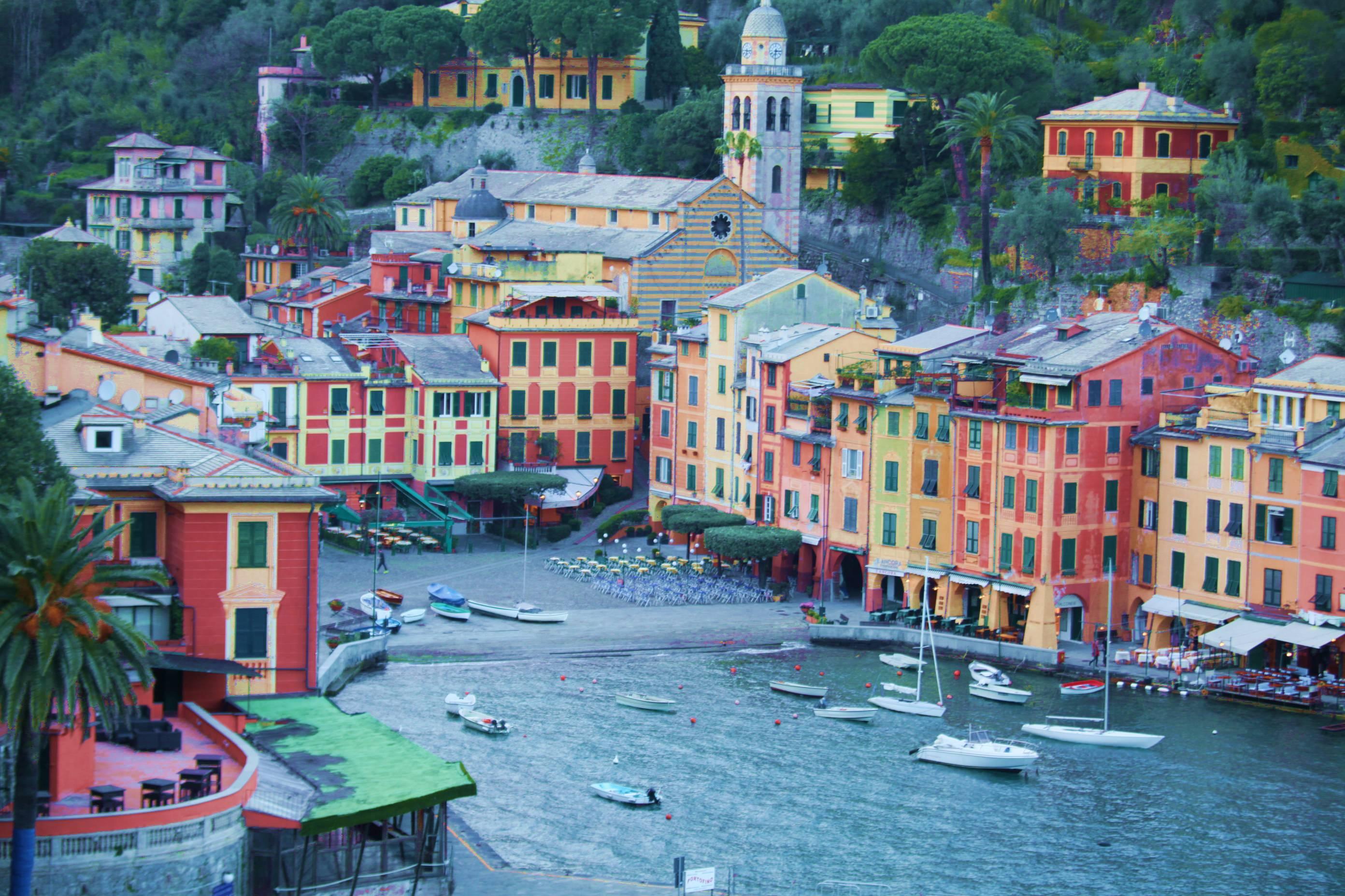 Portofino um charme italiano na costa da Ligúria – Itália