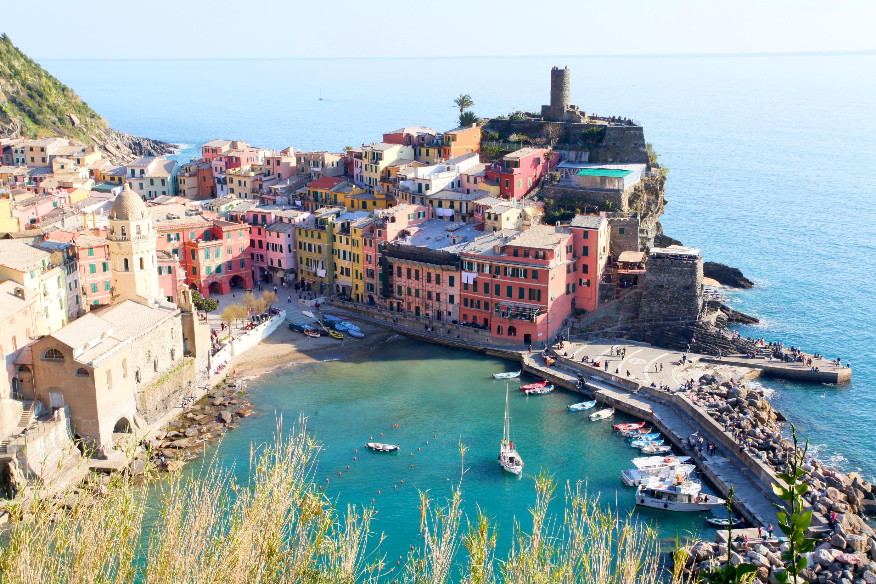 Um giro por Cinque Terre – Ligúria – Itália