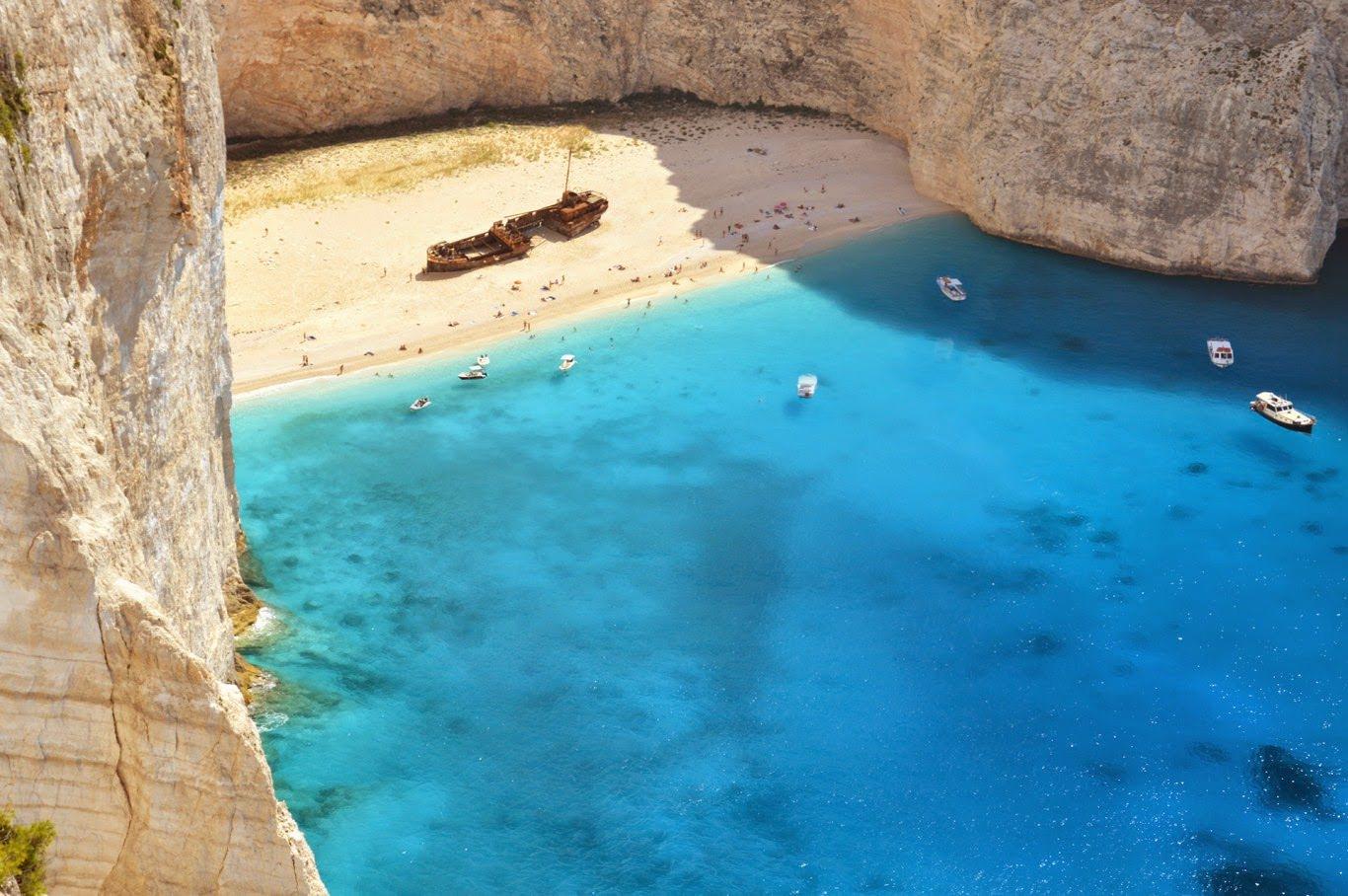 Como chegar em Shipwreck (Navagio) Praia em Zakynthos, Grécia – a praia mais bonita do mundo