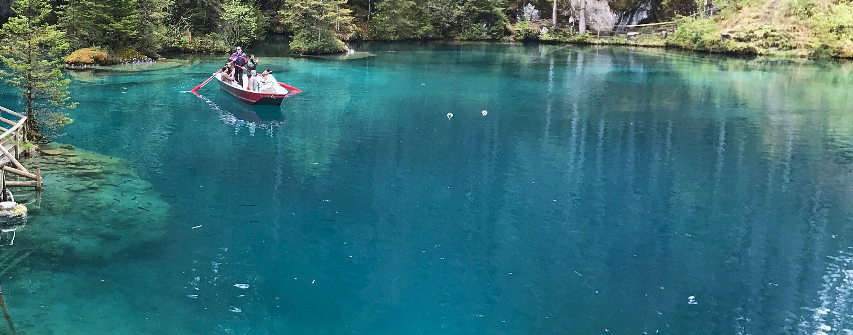 Blausee o lago mais azul da Suíça!