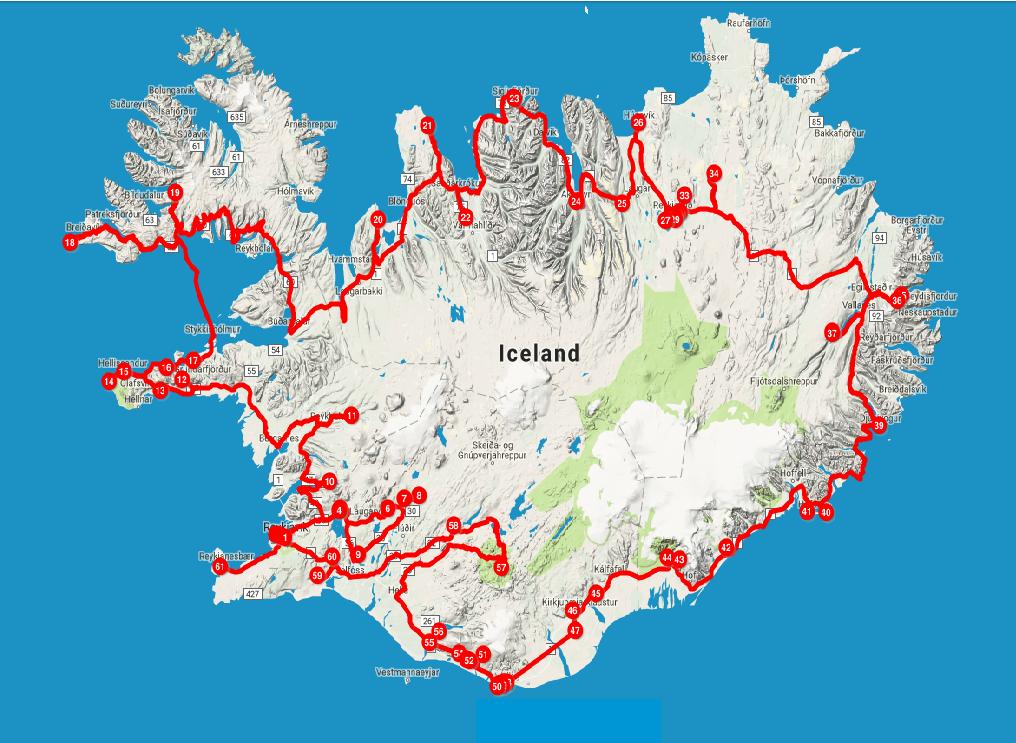 Lugares tops para visitar na Islândia (Iceland )