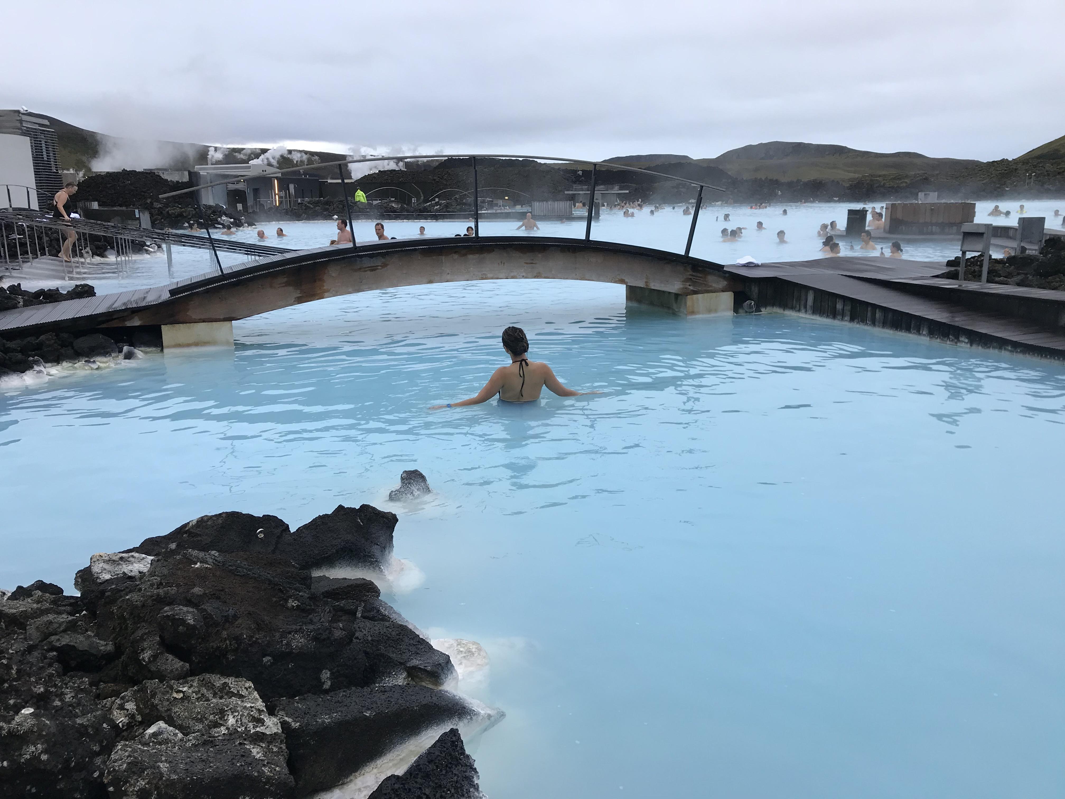 Blue Lagoon e outras fontes termais na Islândia!