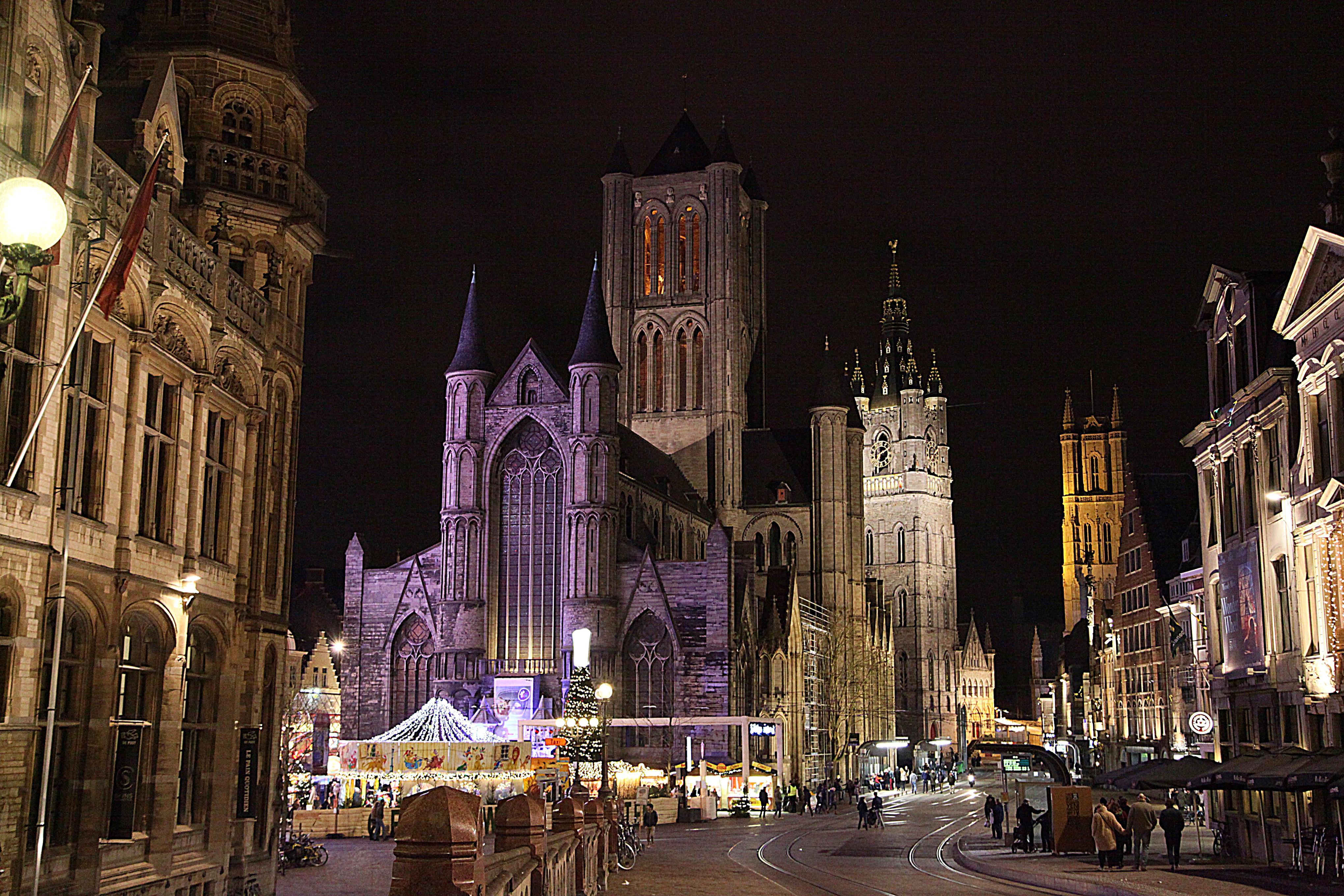 Ghent – Bélgica! Um bate e volta imperdível a partir de Bruges ou Bruxelas!